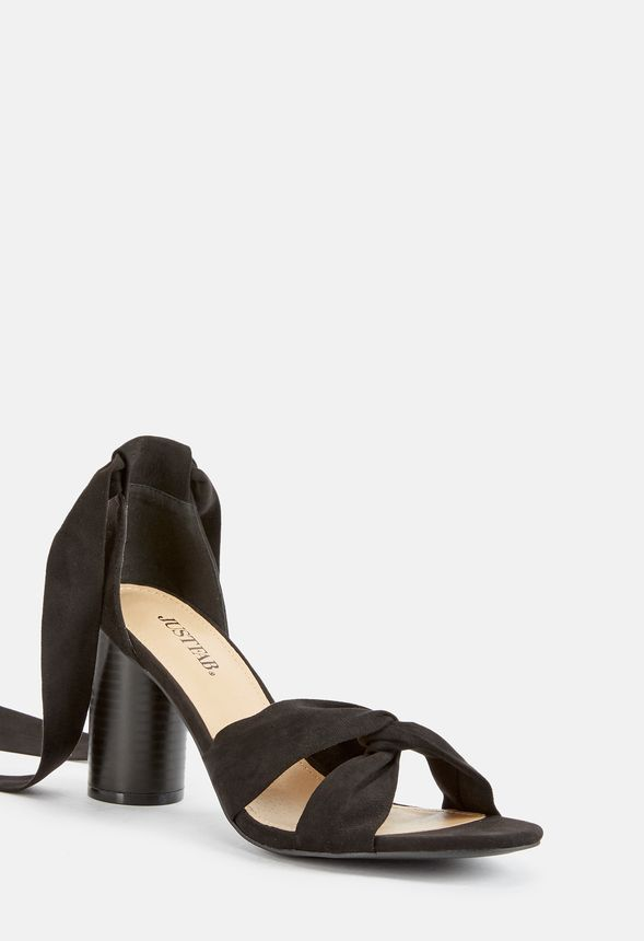 5997a248d61 Annie Heeled Sandal in Black - Get great deals at JustFab