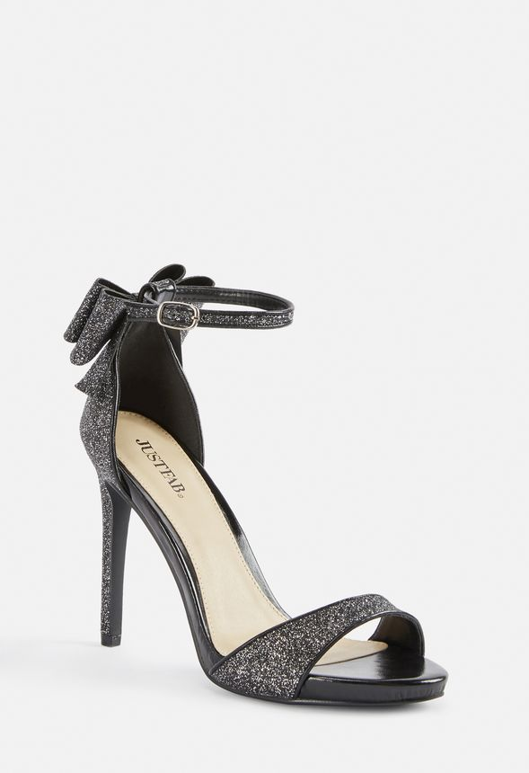 3464eee38e1 Rockelle Bow Heeled Sandal in Black - Get great deals at JustFab