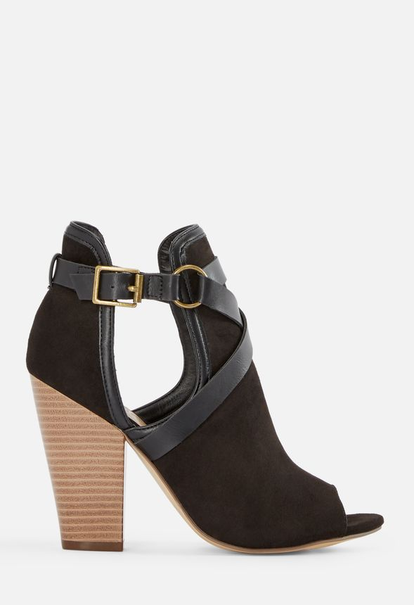 f7ab4c5e3 Roxii Open Toe Harness Heeled Sandal in Black Combo - Get great deals at  JustFab