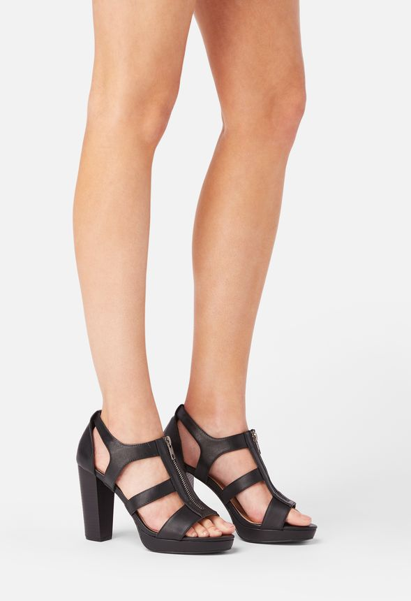 7da5e235fa2f Work To Play Heeled Sandal in Black - Get great deals at JustFab