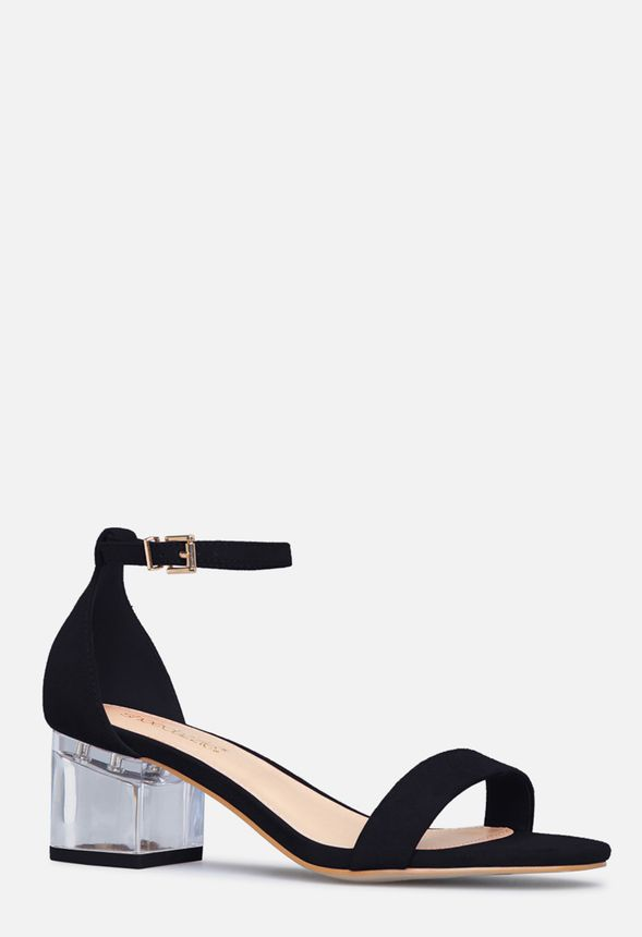 653a50537 Claudette Low Block Heel in Black - Get great deals at JustFab