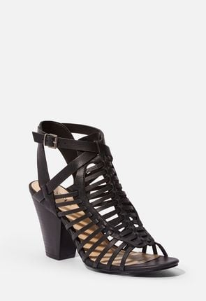 47aa74016a4 Available in Wide Width. (6). Fashionably Late Caged Heeled Sandal ...