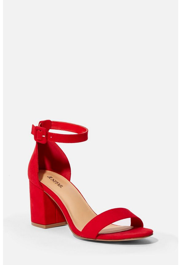 266597168d7 Summer Heeled Sandal in Red - Get great deals at JustFab