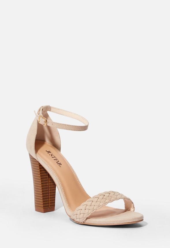 Quinnie Heeled Great Justfab In Deals Sand Sandal Get At gf76yYbv