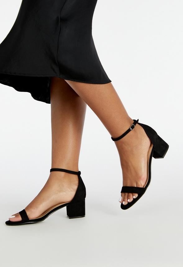 3009eb806 Noura Heeled Sandal in Black - Get great deals at JustFab