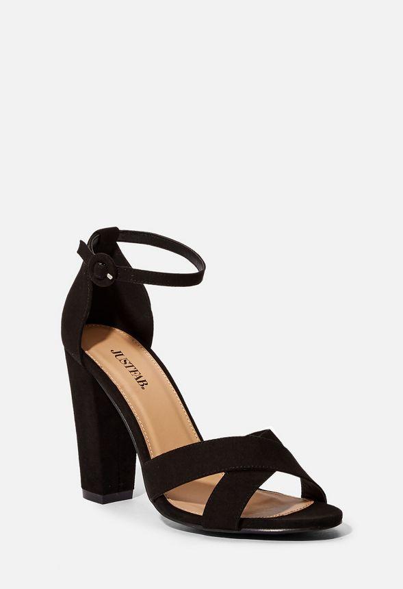 14a1e74d1388 Olivia Block Heeled Sandal in Black - Get great deals at JustFab