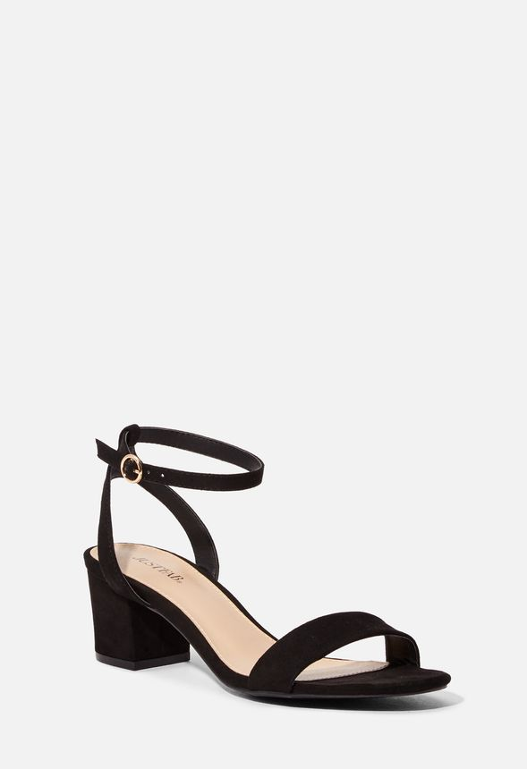 3642a3689 Kani Low Block Heeled Sandal in Black - Get great deals at JustFab