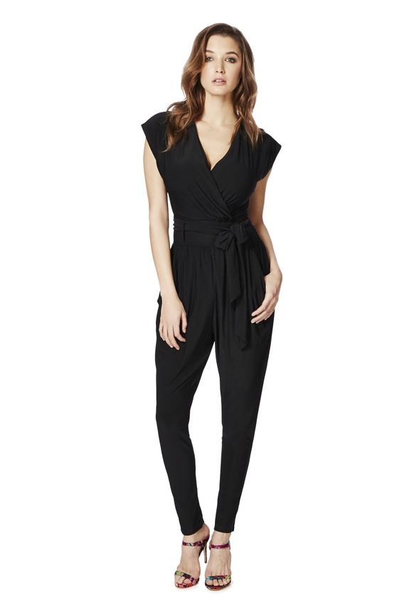 196202dc163 Knit Jumpsuit in Black - Get great deals at JustFab