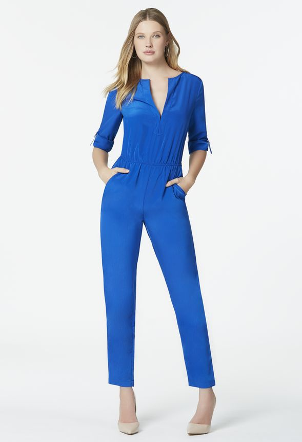 Excellent  Jumpsuit This Batwing Sleeve Jumpsuit Is The Go To Outfit For Us It Is