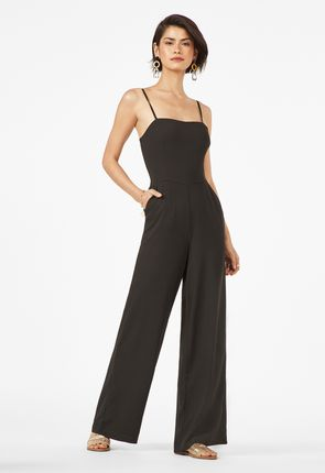 b431d23b333b Sleeveless Zipper Jumpsuit. Available Up To 3X. Convertible Strap Wide Leg  Jumpsuit ...