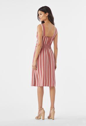 02f2966966 Striped Linen Dress Striped Linen Dress