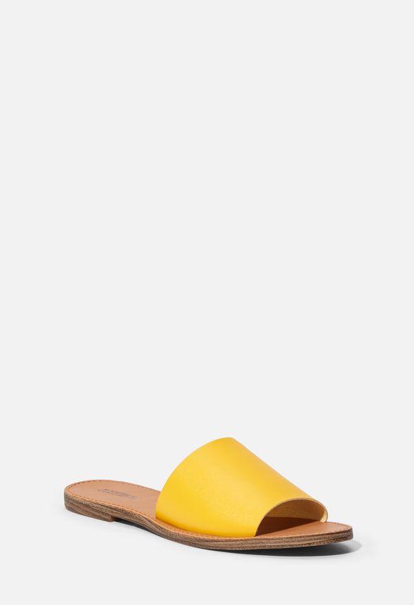 7da9a5e5d970 Bea Slide Sandal in Golden Spice - Get great deals at JustFab