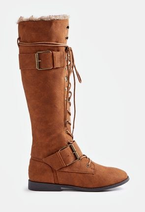 2b3db3cde0a Cheap Thigh High Boots - Flat