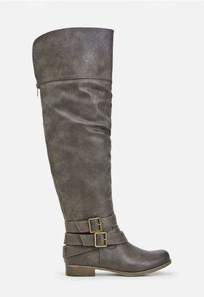 Affordable Thigh High Boots - Flat, Lace Up, Plus Size, High Heel ...