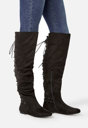 1fff000be90 Women s Black Knee High Boots On Sale - 50% Off Your 1st Order!