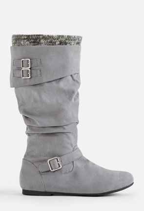 46ce2ce8d85 Andromeda Slouchy Sweater Cuff Boot Andromeda Slouchy Sweater Cuff Boot ·  Andromeda Slouchy Sweater Cuff Boot. Available in Wide Calf