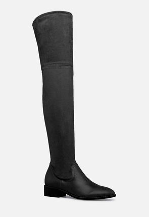 0635778f9b0 Women s Black Over The Knee Boots On Sale - 50% Off Your 1st Order!