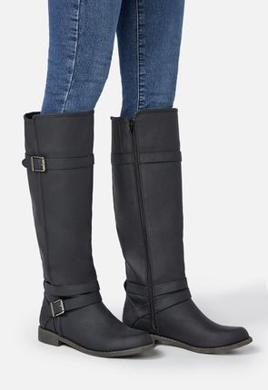 53f543a1318 Ride Around Faux Leather Boot Ride Around Faux Leather Boot