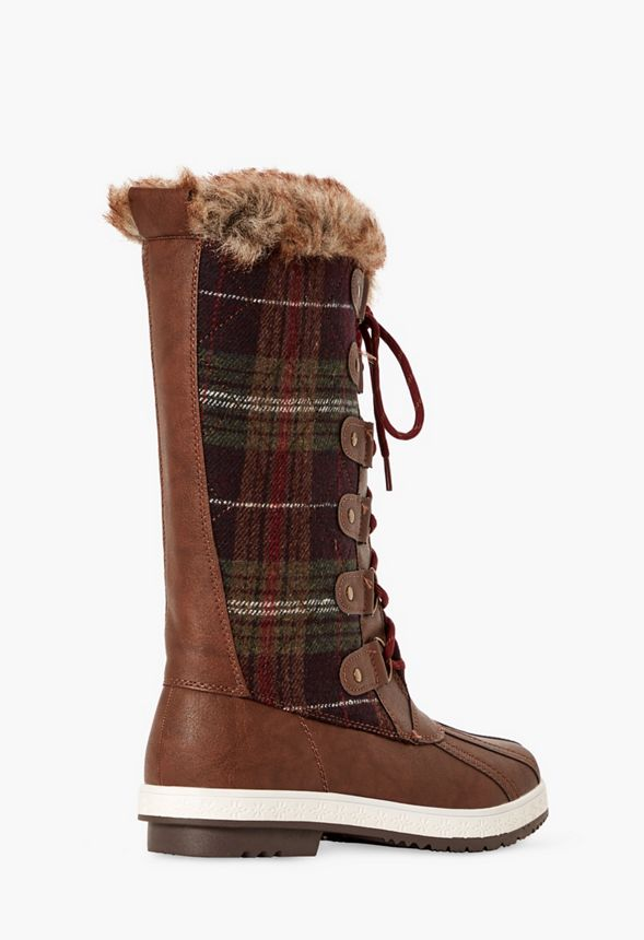 Faux Fur NWB Mult Sizes Spring Step Micah Boot Laced Short