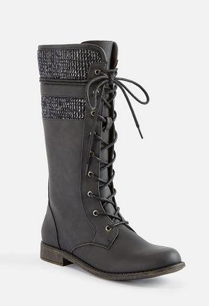 3af28050e0c2 Women s Black Flat Boots On Sale - 50% Off Your 1st Order!