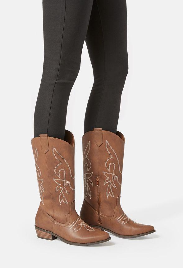 7d0a2c1b7b7 Rodeo Girl Cowboy Boot in Cognac - Get great deals at JustFab