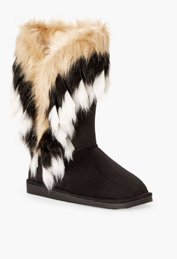 c74f95c2fea Winter s Coming Furry Fuzzie in Black - Get great deals at JustFab