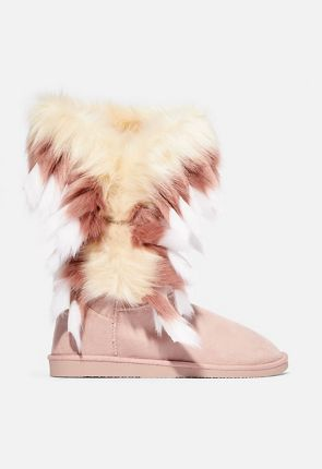 644548455082f2 Womens Fuzzy Boots - Our Furry Boots On Sale Now - 50% Off Your 1st ...