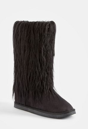 7b5ad466d7fc Womens Fuzzy Boots - Our Furry Boots On Sale Now - First Style Only  10!