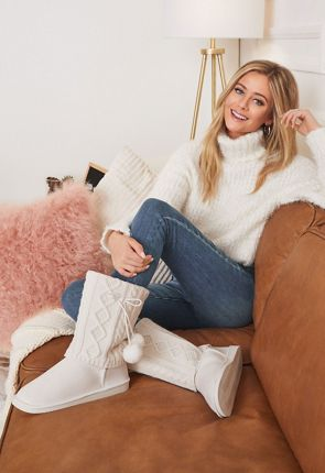 Womens Fuzzy Boots - Our Furry Boots On Sale Now - First Style Only  10! 1ee502c57