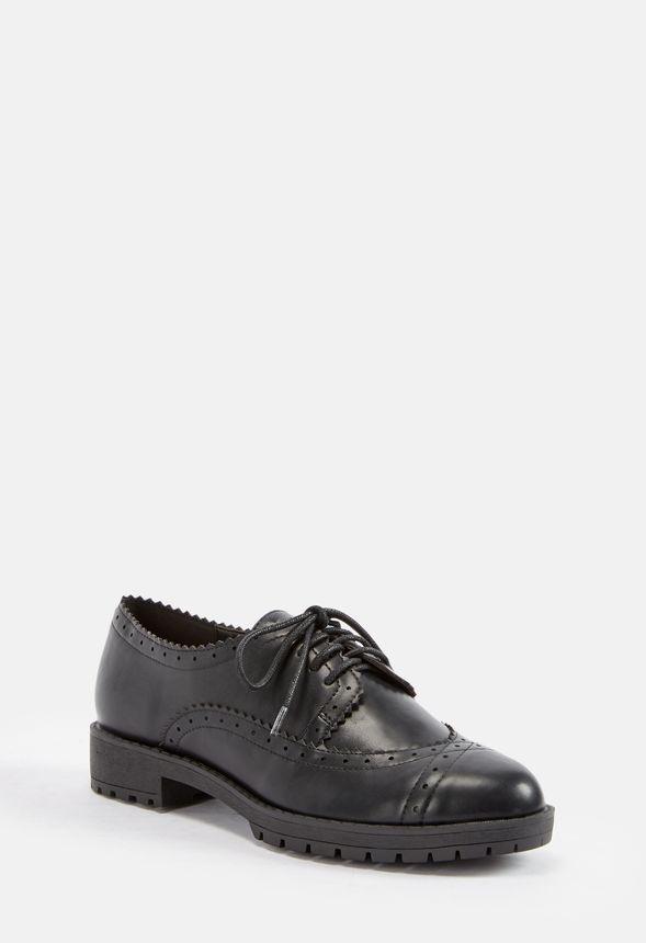 10f4b31c831 Perllea Oxford in Black - Get great deals at JustFab