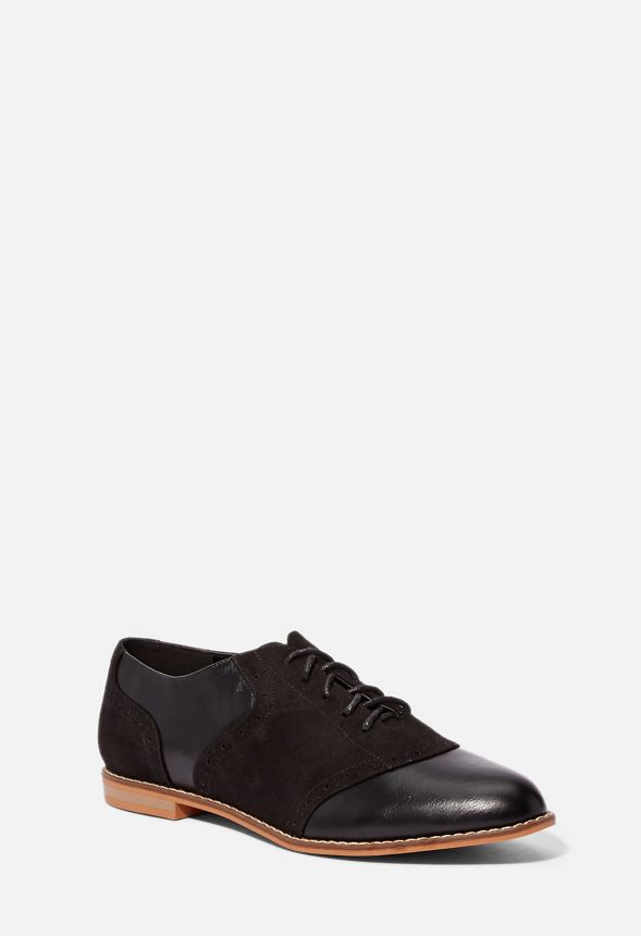 cd389d91bef Neesha Oxford in black combo - Get great deals at JustFab