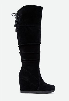 9fa62d1fef6 Womens Wedge Boots   Booties - Flat