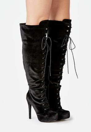 3647e23a7da Women s Black Knee High Boots On Sale - 50% Off Your 1st Order!