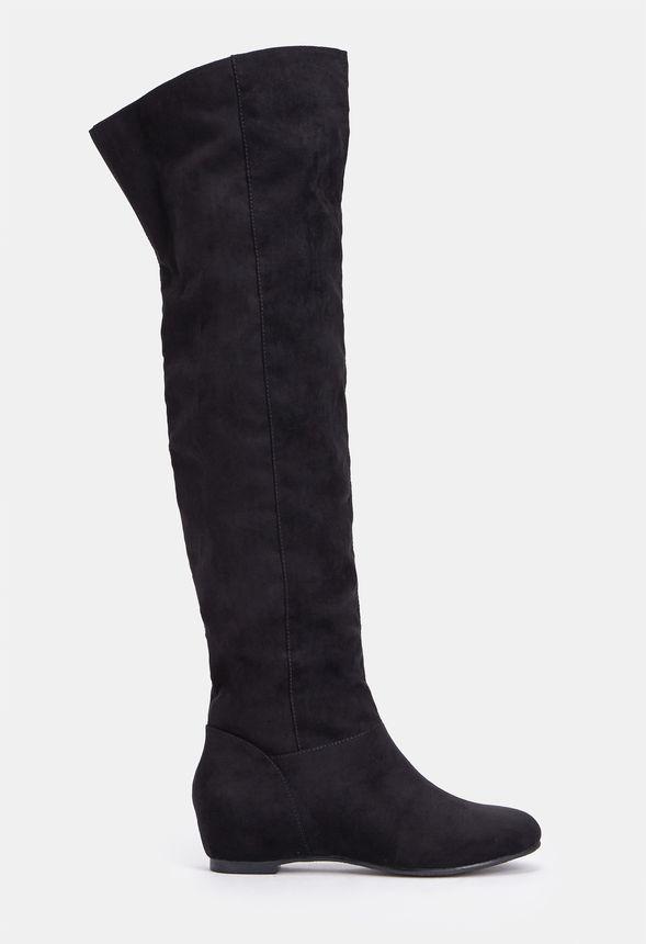 32c6d8c6cf6b Cheap Thigh High Boots - Flat