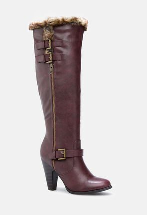 934af086453e Women's Knee High Leather Boots On Sale - First Style for $10!