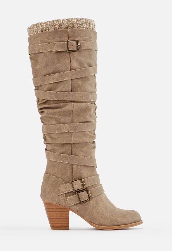 Jodie Sweater Cuff Tall Boot in Jodie