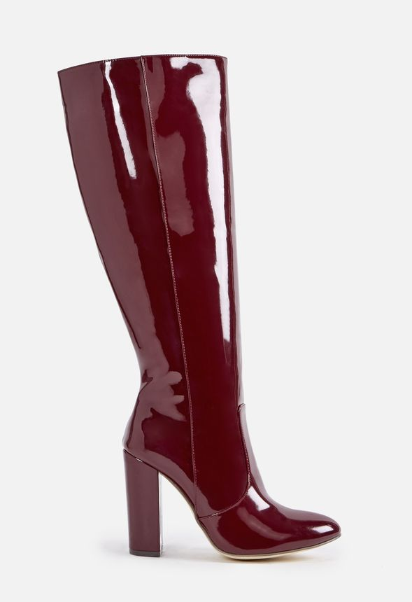 7c19fc438cd Alcee Heeled Boot in BURGUNDY - Get great deals at JustFab