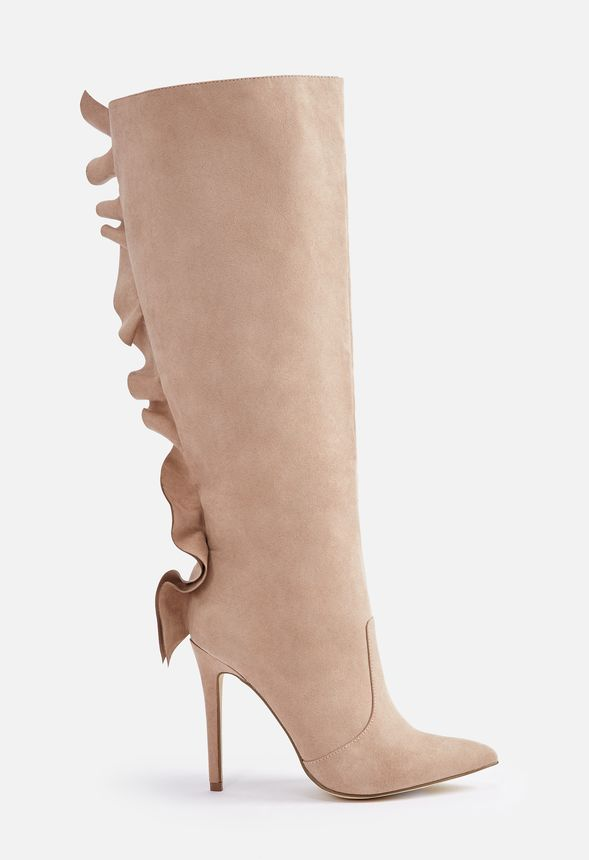 2ed76851a06b Norelle Heeled Boot in Taupe - Get great deals at JustFab