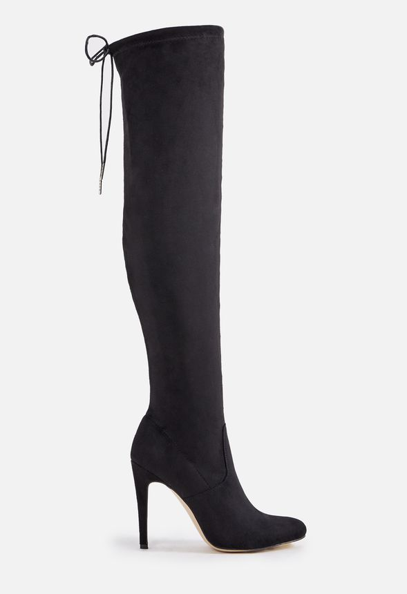 Women s Black Knee High Boots On Sale - 50% Off Your 1st Order! 634a1a0444