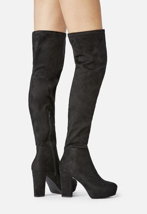 6f7692bec6c5 Women s Black Knee High Boots On Sale - 50% Off Your 1st Order!