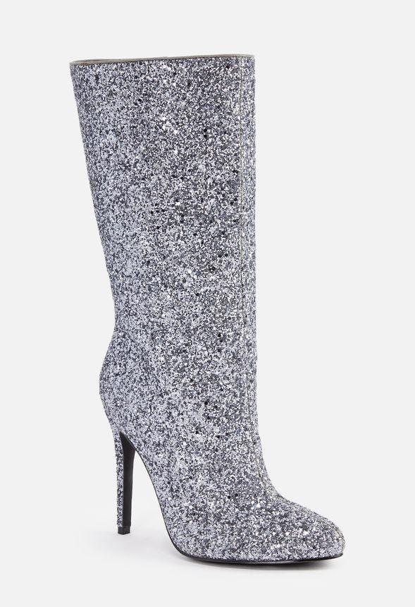 justfab glitter boots