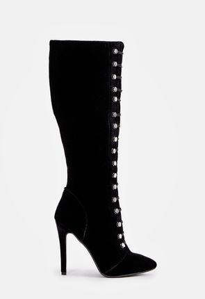 c19164b20f5 Women's Black Knee High Boots On Sale - 75% Off Your First Item ...