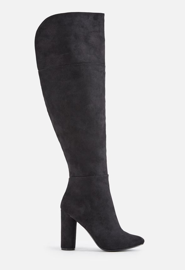 661011309b55 Rue Heeled Boot in Black - Get great deals at JustFab
