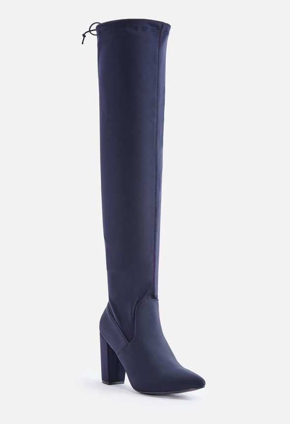 Mariam Heeled Over-The-Knee Boot in