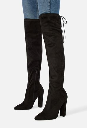 Women s Black Knee High Boots On Sale - 50% Off Your 1st Order! 2b7862a2d8
