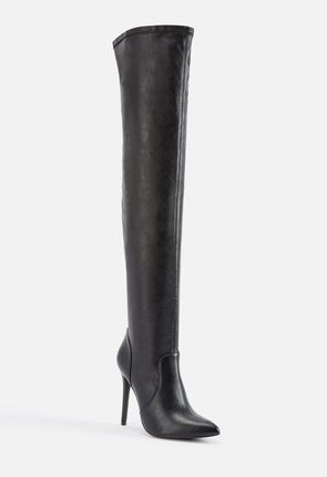ec22806de323 Women s Black Knee High Boots On Sale - 50% Off Your 1st Order!