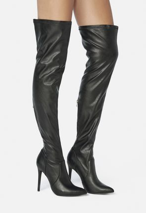 dda84f3fade Women s Black Over The Knee Boots On Sale - 50% Off Your 1st Order!