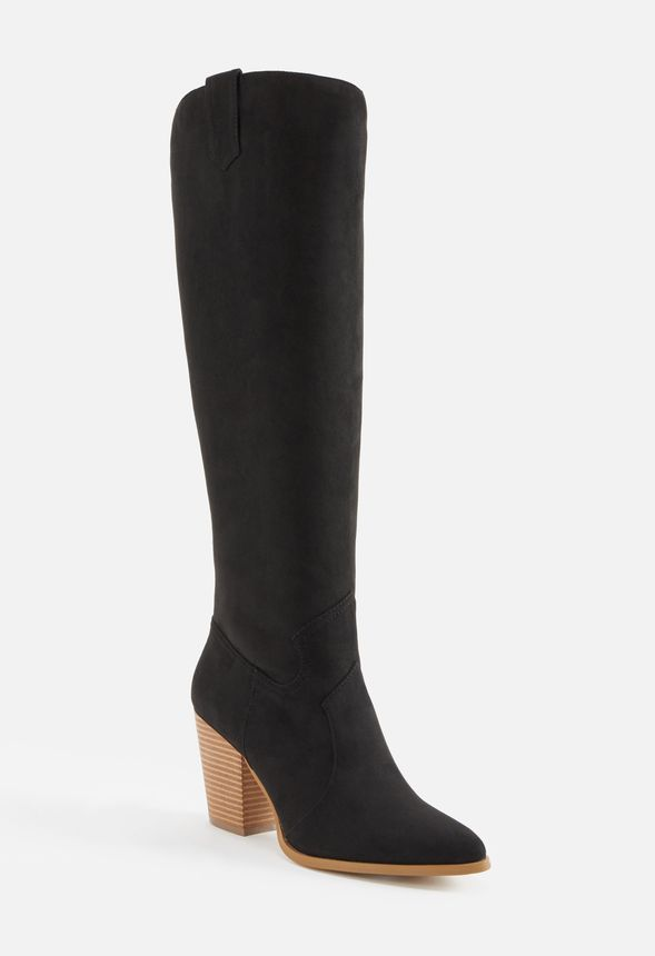 cd53e83dc31 Ropa Western Tall Boot in Black - Get great deals at JustFab