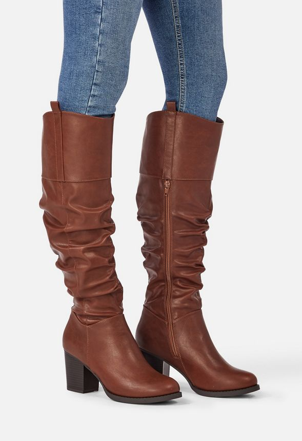 Alison Heeled Boot by Justfab