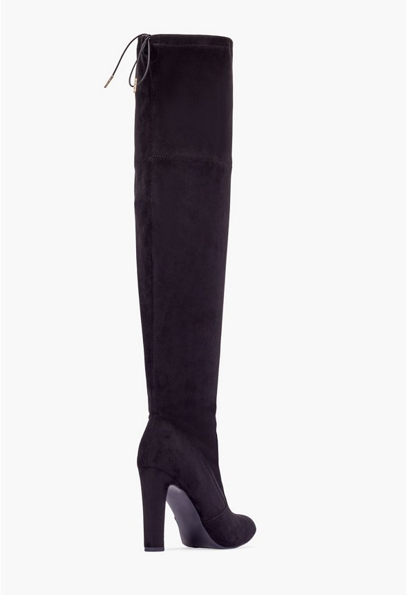 Free: **LIKE NEW** Size 6 Just Fab White Knee High Heel